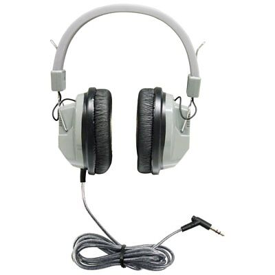 Hamilton Buhl Deluxe Stereo Headphone With 3.5mm Plug - Stereo, Mono - Gray (Hamilton Stereo Headphone)