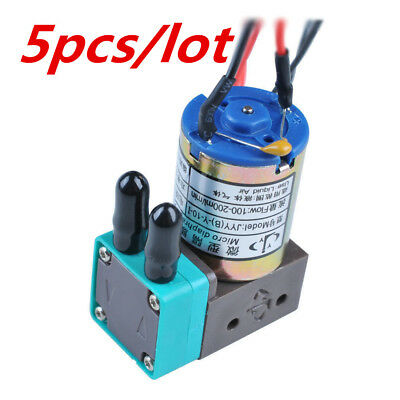 5pcs Original Micro Diaphragm Ink Pump Jyy B-y-10-1 For Infiniti Crystaljet
