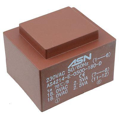 0-15v 0-15v 5va 230v Encapsulated Pcb Transformer