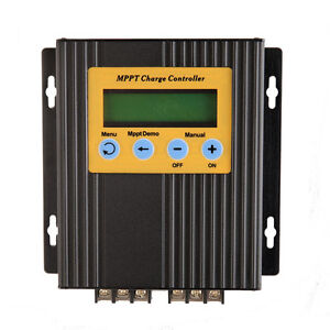 Patented MPPT Solar Charge Controller 20A 12/24V Auto Work Battery Regulator dd