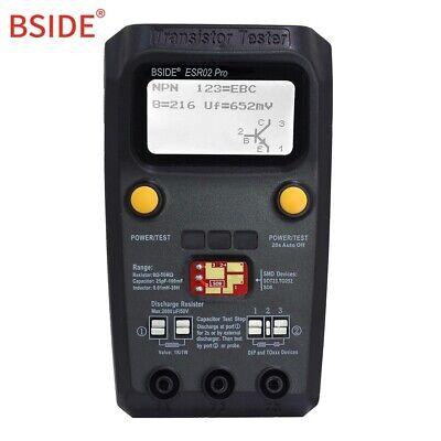 Bside Esr02 Pro Digital Transistor Smd Diode Capa Multimeter Esr Meter Kit