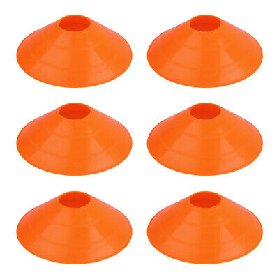 12 Large JUMBO Disc cones super domes Orange training aid field marking