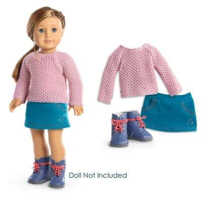 NEW American Girl Truly Me Sparkle Sweater Outfit for 18
