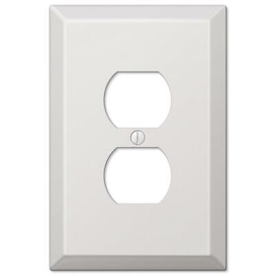 Electrical Switchplate Outlet Cover White Single Toggle, GFI or Duplex Oversized