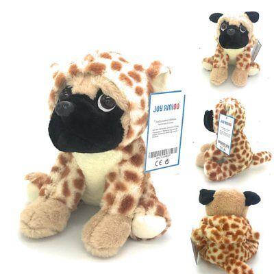 Stuffed Pug Dog Puppy Soft Cuddly Animal Toy in Costumes - Super Cute Quality