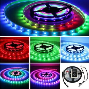 Magic Dream Color RGB LED Strip 5M 6803 IC 133 change IP68 outdoor Waterproof+RF