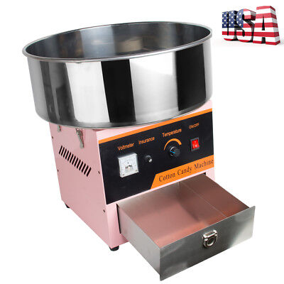 Commercial Carnival Cotton Candy Electric Portable Sweet Maker Sugar Machine