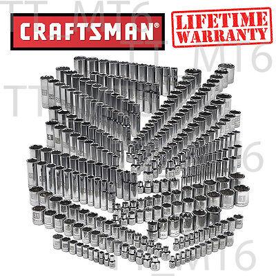 Craftsman 299-chunk Ultimate Easy Read Deep Standard SAE Metric Socket Set