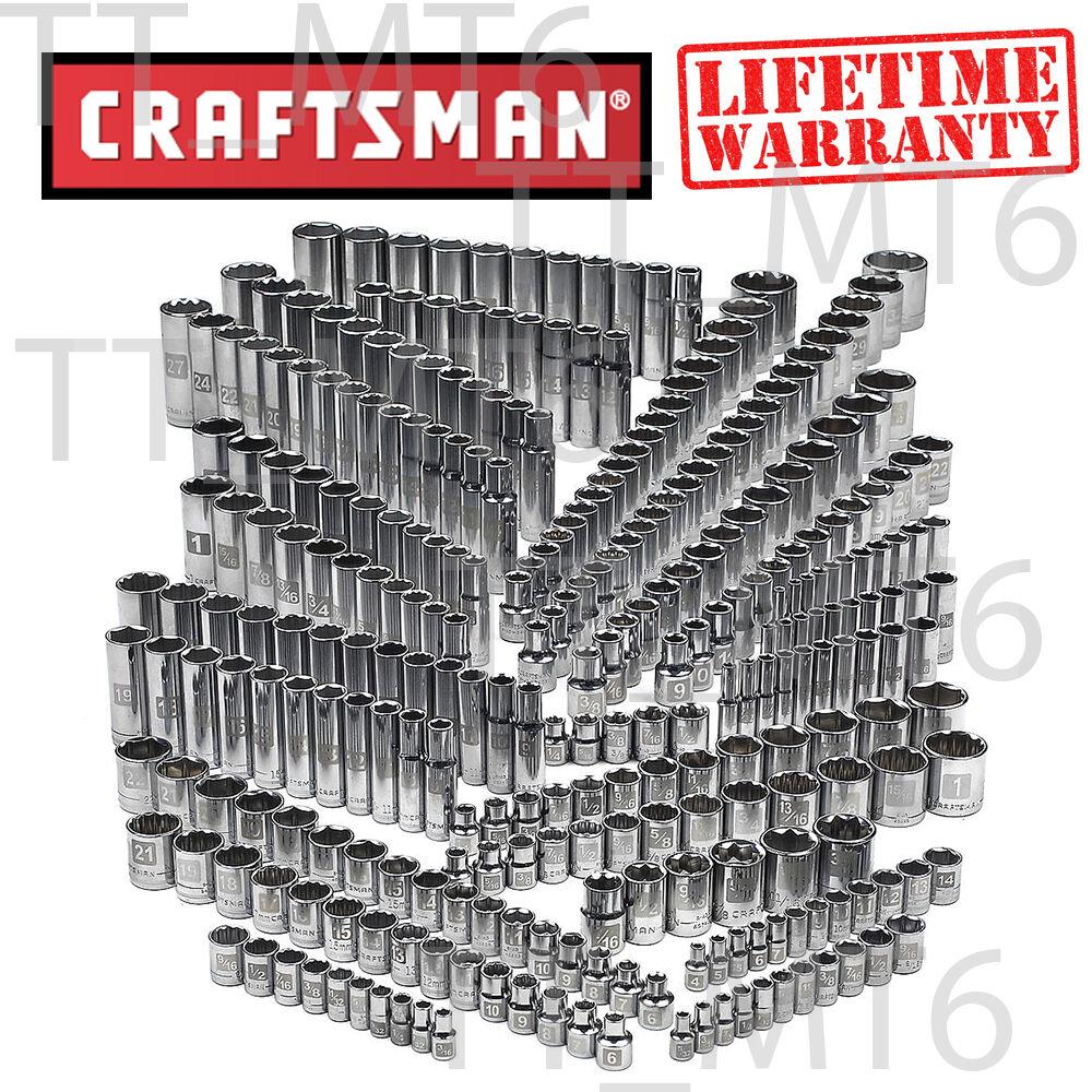 Craftsman 299-piece Ultimate Easy Read Deep Standard SAE Met