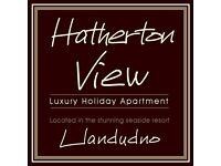 HATHERTON VIEW - 3 BEDROOM HOLIDAY APARTMENT TO RENT IN LLANDUDNO - NORTH WALES