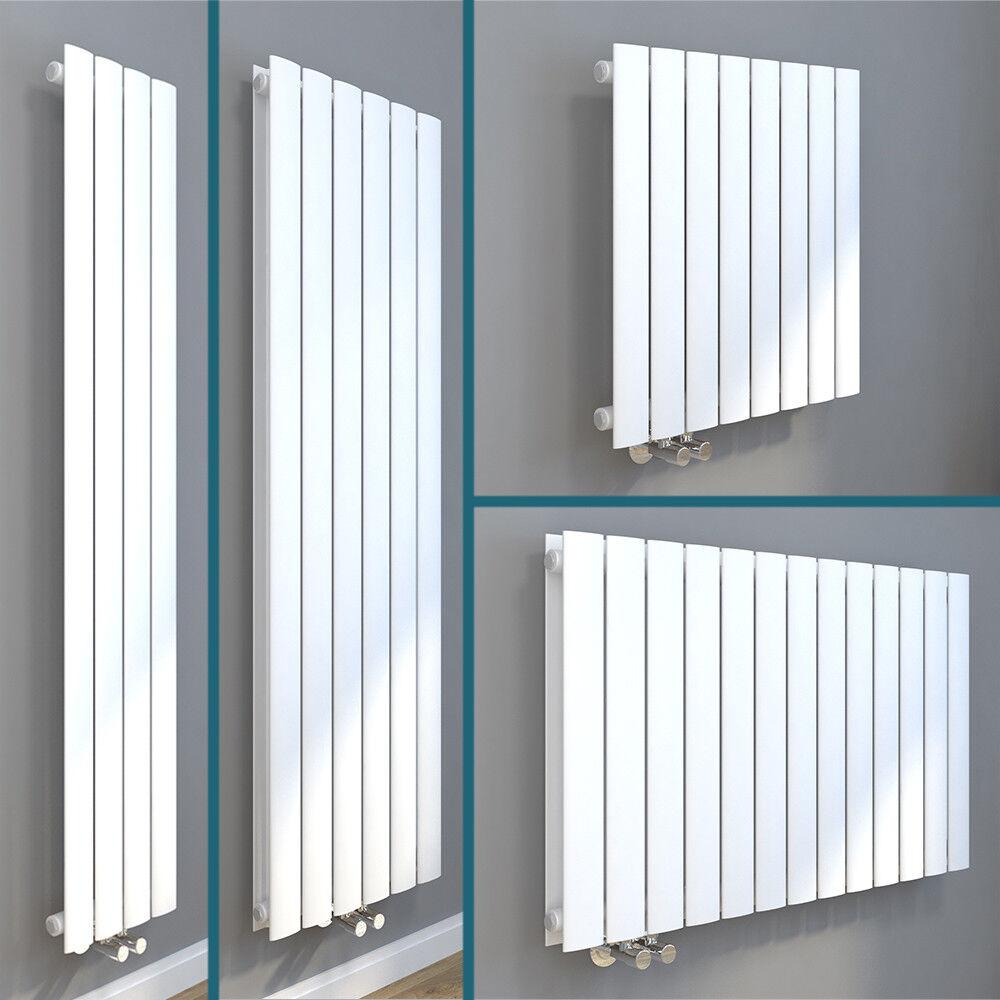 Design Paneel Heizkörper Flachheizkörper Wandheizkörper Vertikal/Horizontal Weiß