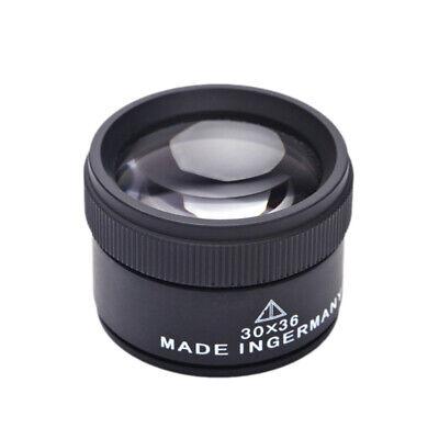 lente de aumento 30x 30mm monocasco lupa relojes orfebreria relojero joyeria