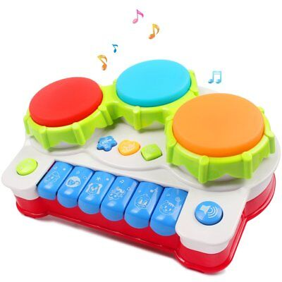Musical toys, AMOSTING Music Piano Keyboard Drums Learning Toy Best