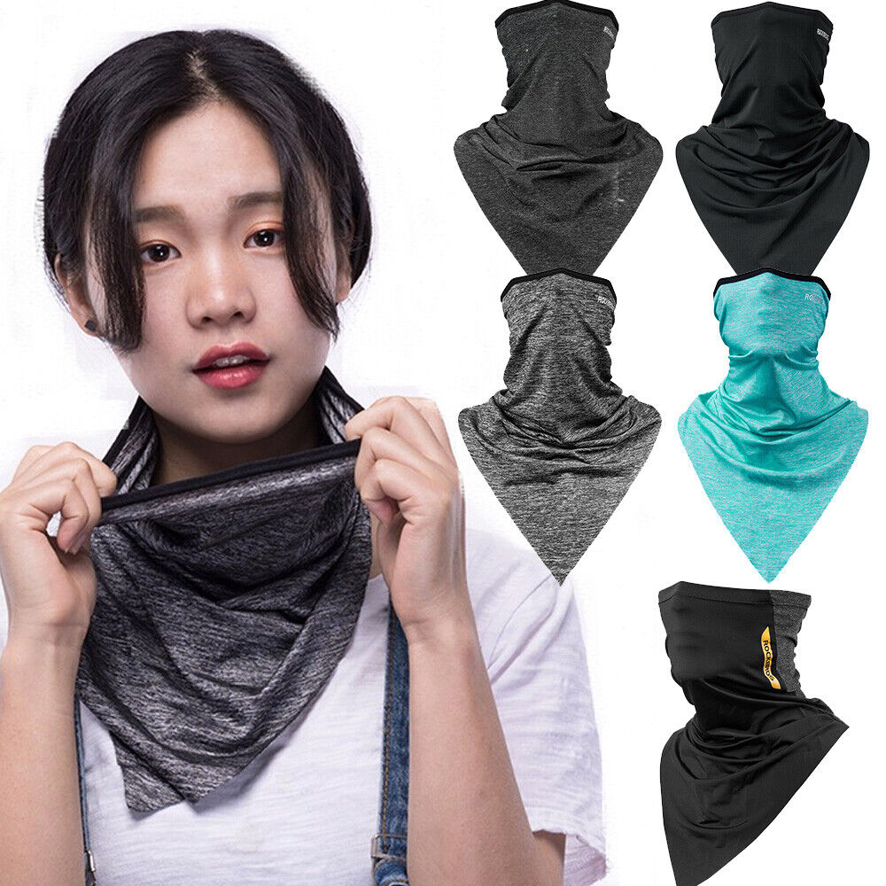 Face Mask Cooling Tube Bandana Scarf  Windproof Sun Shield Women Men Neck Gaiter Clothing, Shoes & Accessories
