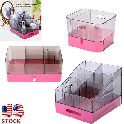 Cosmetic Makeup Case Organizer Display Holder Drawer Acrylic Jewelry Storage Box
