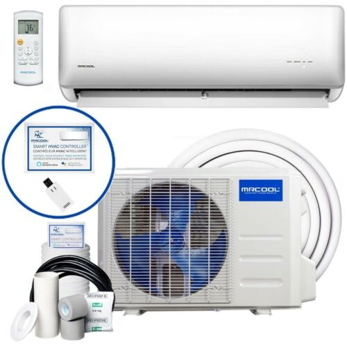 MrCool Olympus Hyper Heat miniSplit Heat Pump/AC 22 SEER Wall Mount 12k BTU 115V