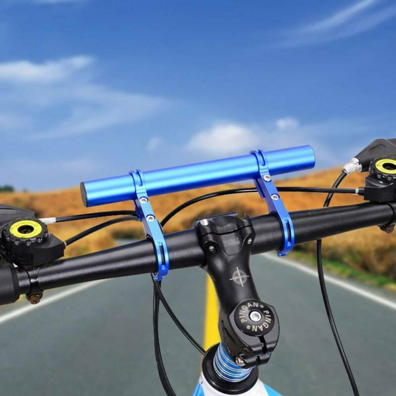 Sturdy Mountain Bike Handlebar Extension Expander Bicycle Mount Lamp Holder BD