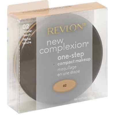 Revlon New Complexion One-step Compact Makeup, Tender Peach 0.35 oz (Pack of 5)