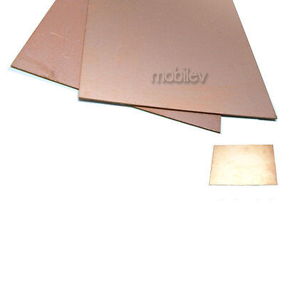 1 Copper Clad Laminate Circuit Boards Fr4 Pcb Double Side 150mmx200mm 15cmx20cm