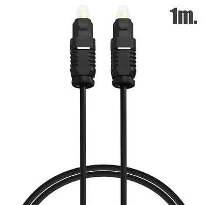Cable Toslink Audio Digital Fibra Optica 1m Optico Sonido Hifi Optic Fiber...