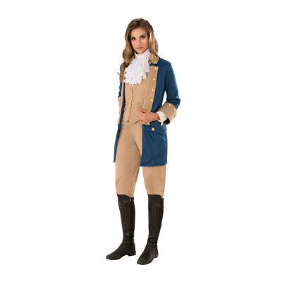 Womens Patriotic Woman American Revolutionary Costume](Womens Patriotic Costumes)