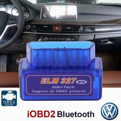 ELM327 OBD2 Advanced Bluetooth V1.5 ODB 2.0 II Auto Diagnose Scanner Werkzeug (Bluetooth Odb2 Scanner)