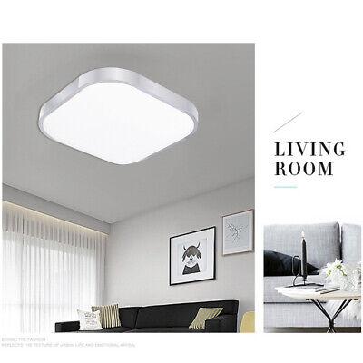 12W E27 Lámpara de Techo LED Salón Panel Lámpara de Cocina IP44...