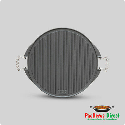 42cm Cast Iron Griddle Plate / Skillet / BBQ