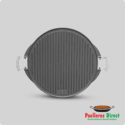 42cm Cast Iron Griddle Plate for Gas Burner / BBQ