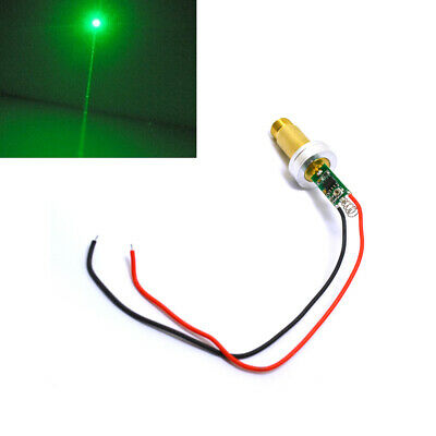 Powerful 532nm 100mw Green Laser Diode Module Dot Spring 3.0-3.7v With Heatsink