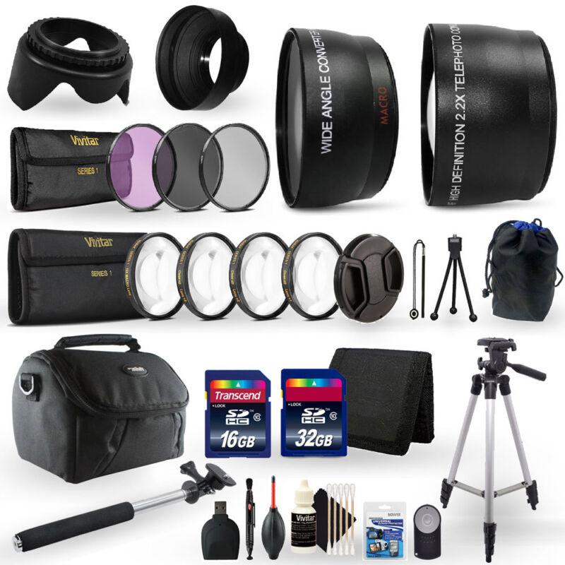 48GB Top Accessory Kit for Nikon D5600 Digital SLR Camera