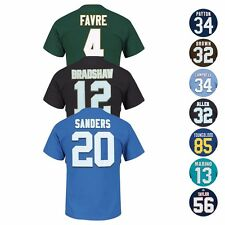 "NFL ""Eligible Receiver"" HOF Retired Player Jersey T-Shirt Collection - Men"