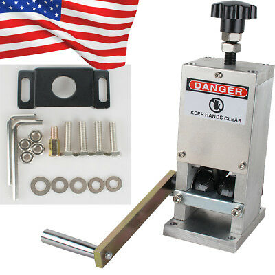 Us Manual Wire Stripping Machine Copper Cable Peeling Stripper Wdrill Connector