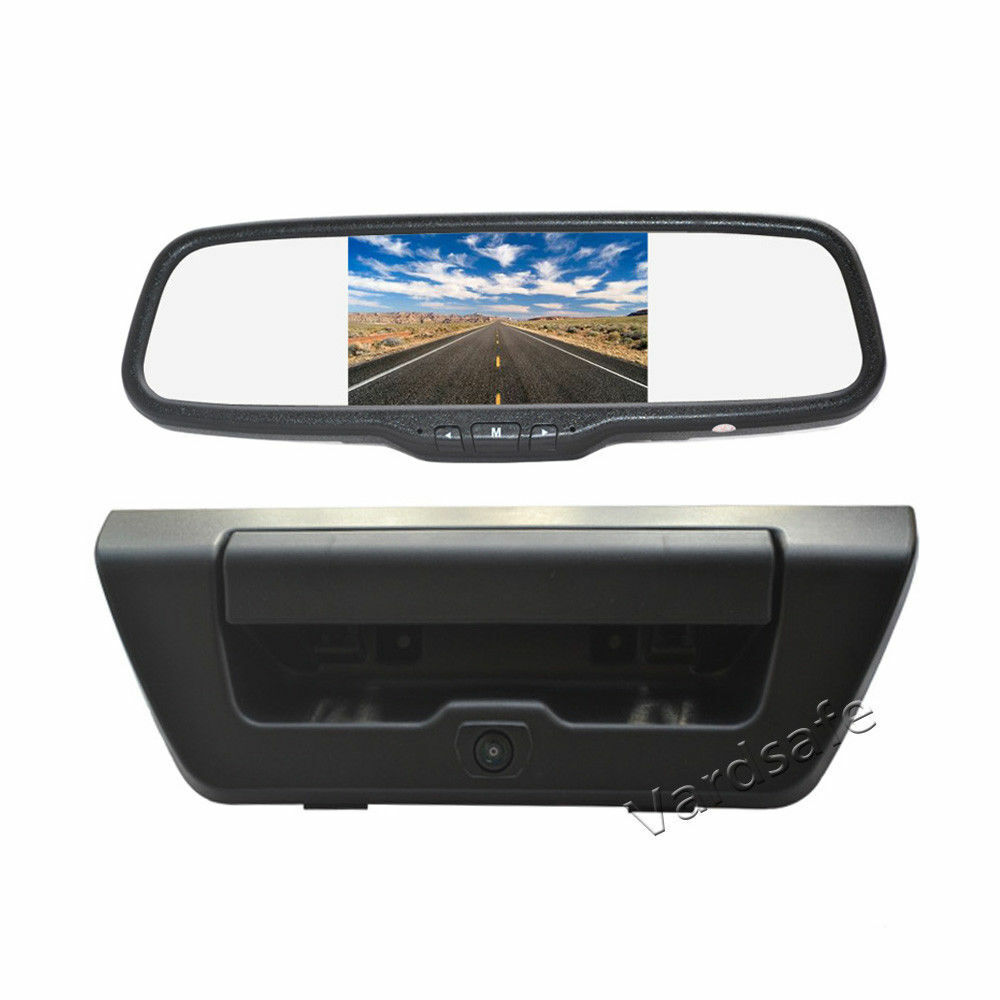 OEM Backup Camera & Rearview Mirror Monitor for Ford F150