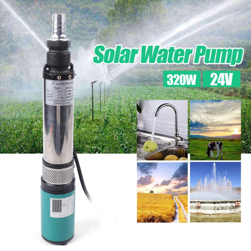 Solar Deep Well Submersible Water Pump - DC 24V 320W Solar Pump 5m³/h