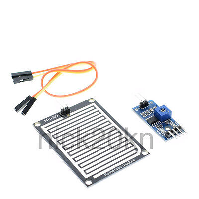 Rain Sensor Module Humidity Raindrop Weather Detection Module For Arduino Usa