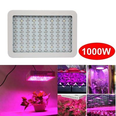 1000W With 2 Fans High-power Full Spectrum Of Light LED Grow Light High N0Y3Q