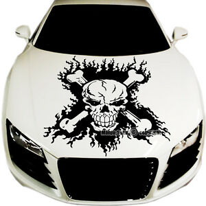 Car Hood  body Graphic Vinyl Sticker Decal 23