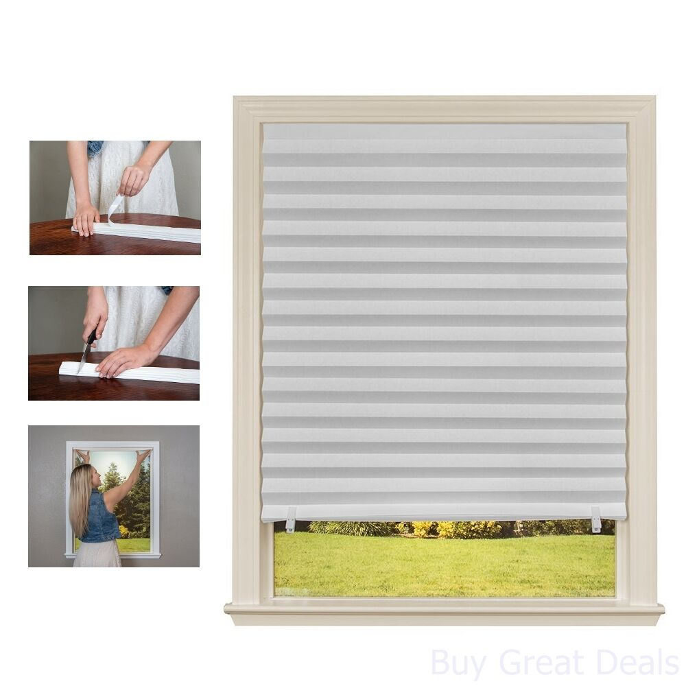 Lighting Blocking Window Shade Blackout Temporary Shade Blinds Set Recyclable