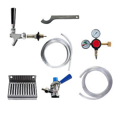 Sankey Keg Conversion (Kegerator Refrigerator Conversion Kit - Universal - Ball Lock To Sankey 'D')