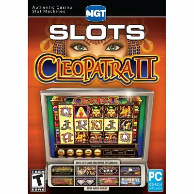 Computer Games - IGT Slots Cleopatra II PC Games Window 10 8 7 XP Computer Games slot machine NEW