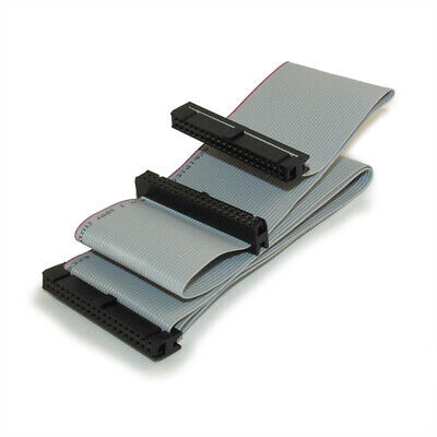 24IN IDE Cable IDE Dual Drives Ribbon Cable 40pin (for CD/DVD Drive)