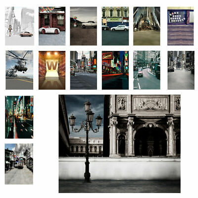 3x5ft 5x7ft Night City Photography Backdrops Covers Photo St