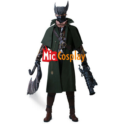 Bloodborne The Hunter Cosplay Costume Anime Men Clothes - The Huntsman Costume