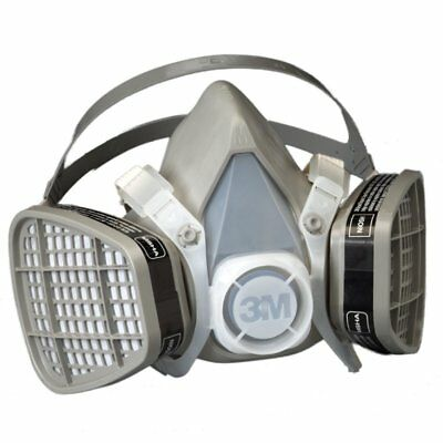 3m 21577 Half Facepiece Disposable Respirator 5101 Organic Vapor Large