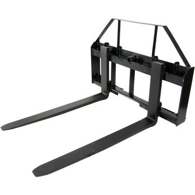 42 Pallet Fork Attachment Fits Kubota Holland Skid Steer Quick Tach