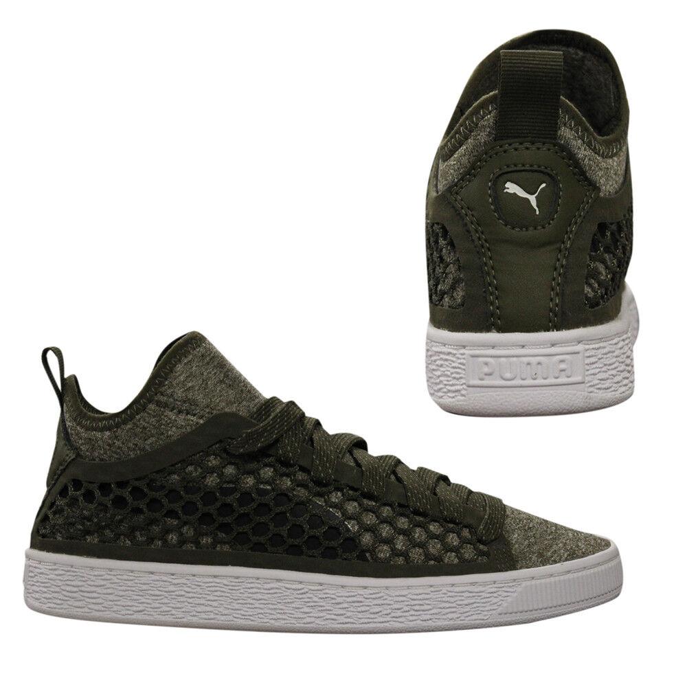 Détails sur Puma Basket NETFIT Classique Mi Homme à Lacets Baskets Textile Chaussures 364249 03 B3B afficher le titre d'origine