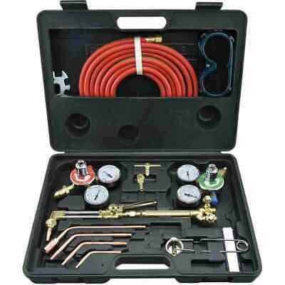 Gas Welding Cutting Kit Victor Type Acetylene Oxygen Torch Set Regulator