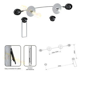 Ultra-Slim-LED-LCD-Plasma-3D-Hdtv-TV-Wall-Mount-Bracket-For-LG-SAMSUNG-40-46-55