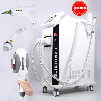 Professional Iplrfyag Laser Hair Removal Tattoo Freckle Removal Q-switch Nd Rf